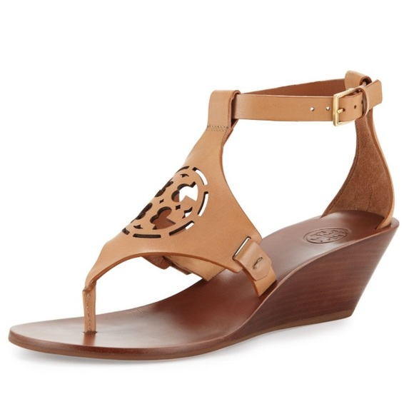 c08b417283ecd Tory Burch Wedge Sandals. M 5b4b7673d8a2c7def42eb72e
